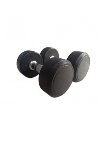 Fitness Gym Rubber-Coated Round Fixed Dumbbell 22.5KG (2 units)