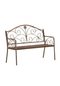 Furniture Direct 526 2-Seaters Metal Bench
