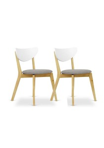 Furniture Direct A Pair of Oslo Cushion Dining Chair