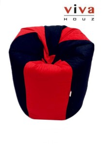 Fun Bean Bag - Red / Black