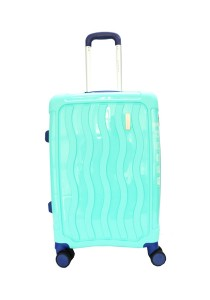 Giordano GA9500 -20 Inch Unbreakable PP Hard Case Trolley (Green)