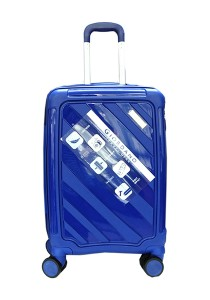 Giordano GA9501 -24 Inch Unbreakable PP Hard Case Trolley (Navy)
