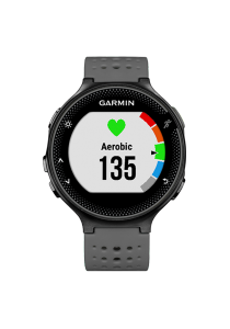 Garmin Forerunner® 235 Gray Black Watch with Wrist-based Heart Rate