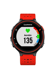 Garmin Forerunner® 235 Lava Red Watch with Wrist-based Heart Rate