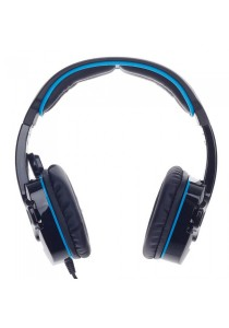 Sades SA-708 Gaming Headset (Black Blue)