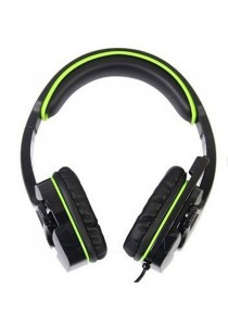 Sades SA-708 Gaming Headset (Black Green)