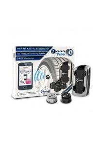 Fobo Tire Car Tire Pressure Monitoring System  (Silver)