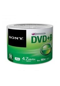 Sony DVD+R 16X 4.7GB 120min Spindle50