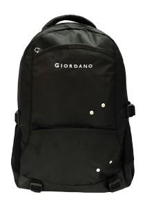 Giordano GB1577-A 19 Inch Casual Backpack (Black)