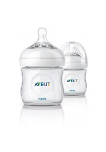 Avent Natural Bottle 4oz/125ml (Twin Pack)