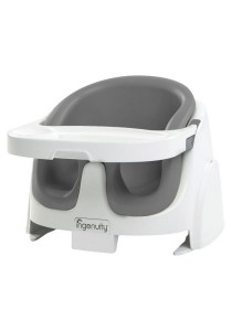 Ingenuity Baby Base 2-in-1 Booster Seat (Grey)