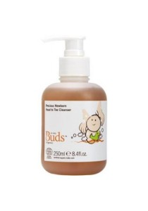 Buds Cherished Organics - Precious Newborn Head To Toe Cleanser (250ml)