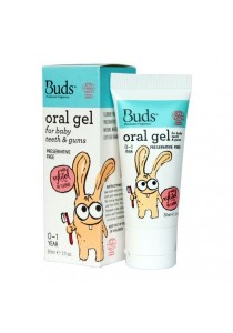 Buds Oralcare Organics - Oral Gel for Baby Teeth & Gums with Xylitol