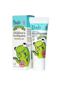 Buds Oralcare Organics - Children's Toothpaste With Xylitol 50ml (Green Apple)