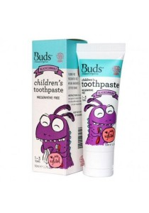 Buds Oralcare Organics - Children's Toothpaste With Xylitol 50ml (Blackcurrant)