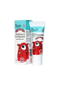 Buds Oralcare Organics - Children's Toothpaste With Xylitol 50ml (Strawberry)