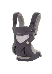 Ergobaby Four Position 360 Baby Carrier - Cool Air - Carbon Grey