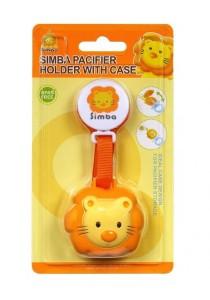 Simba Pacifier Strap & Case
