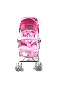 Hello Kitty Baby Stroller - Pink