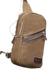 Gelanka Men Casual Canvas Shoulder Bag