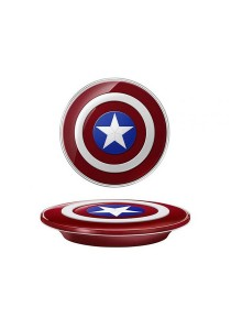 Original SME Official Samsung Marvel Captain America Qi Wireless Charger Charging Pad Station