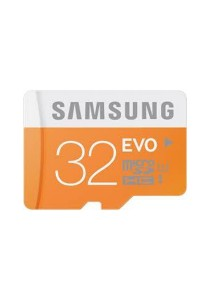 Samsung MicroSDHC Class 10 32GB EVO Micro SD Memory Card with Adapter