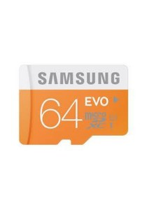 Samsung MicroSDXC Class 10 64GB EVO Memory Card with Adapter