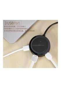 Remax RU-05 Inspiron 3 Tri USB 2.0 Port HUB Extender Adapter