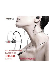 Remax RB-S8 S8 Sport Bluetooth Stereo Wireless Headset EarBud Earphone