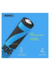 Remax NiMH High Capacity Rechargeable AA 2000mAh Battery