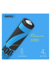 Remax NiMH High Capacity Rechargeable AAA 800mAh Battery