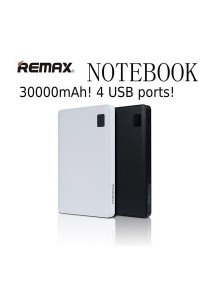 Remax Proda Notebook High Capacity slim30000mAh 4 USB Ports Power Bank