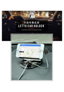 Remax RC-FC2 LETTO Universal 2.1A 3-in-1 Phone Car Holder Stand Mount