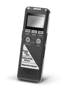 GH-700 Digital Voice Recorder With MP3 8GB Grey