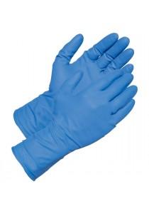 100 Nitrile Disposable Powder-Free Medical Exam (Latex Free) Gloves 4.5 Mil (Blue) L