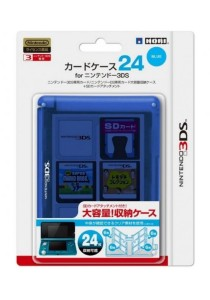 3DS Hori Card Case 24 (Blue)