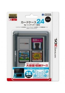 3DS Hori Card Case 24 (Black)