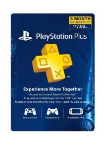 PlayStation Plus Membership - 3 Month - US (Digital)