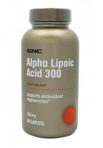 GNC Alpha Lipoic Acid 300mg 60 Softgel Caps