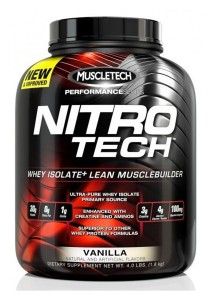 Muscletech Nitro-Tech Performance Series Vanilla 4LBS