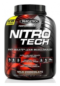 MUSCLETECH Nitro-Tech Performance Series Milk Chocolate 4 lbs