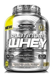 Muscletech Essential Series Platinum 100% Whey Milk Chocolate Supreme 5.03LBS