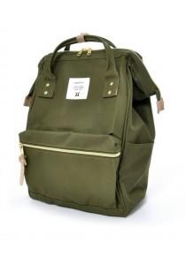 100% Authentic Anello Classic Mini Backpack - KHAKI