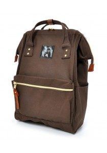 100% Authentic Anello - Classic Backpack Brown Regular Size