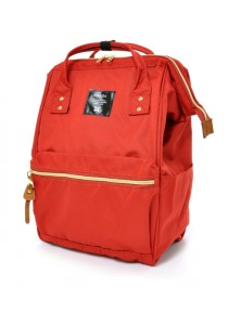 100% Authentic Anello - Classic Backpack Red Regular Size