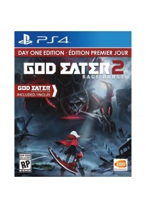 (Pre-Order) God Eater 2: Rage Burst (English) [PS4] (Expected Arrival Date: August 2016)