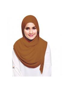Hijab&Me - Fasha Sandha by Milyunir Instant Shawl Eadi (Golden Brown)