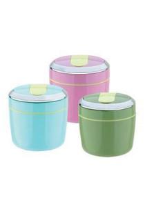 Good Companion Ceramic Inner Lunch Box 1500ml Pink