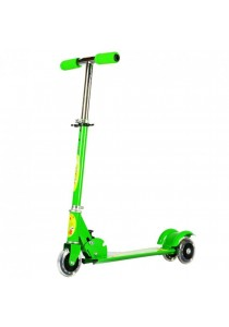 Height Adjustable Foldable Kid Scooter with LED Light up Wheels