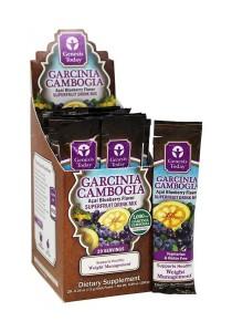 Garcinia Cambogia Superfruit Drink Mix Acai Berry Blueberry Flavour (20x.26 oz)